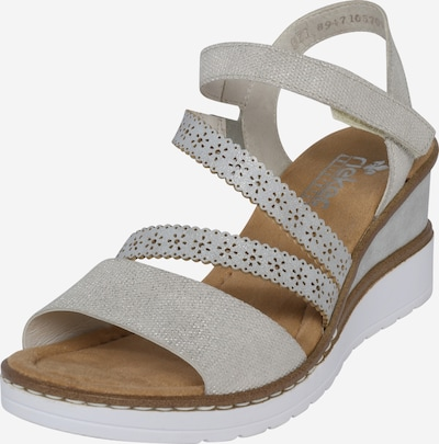 RIEKER Strap sandal in grey, Item view