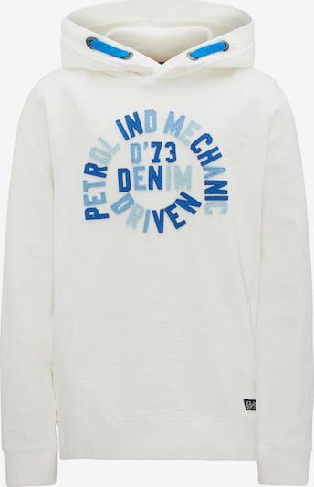 Petrol Industries Sweater in blau / hellblau / weißmeliert, Produktansicht