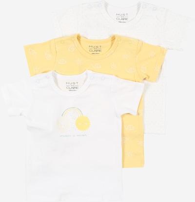 Hust & Claire Shirt 'Alvi' in gelb / weiß, Produktansicht