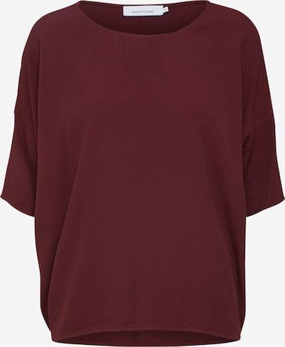 Samsoe SamsoePusero 'MAINS' värissä burgundin punainen, Tuotenäkymä