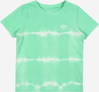 NAME IT T-Shirt in mint / weiß, Produktansicht