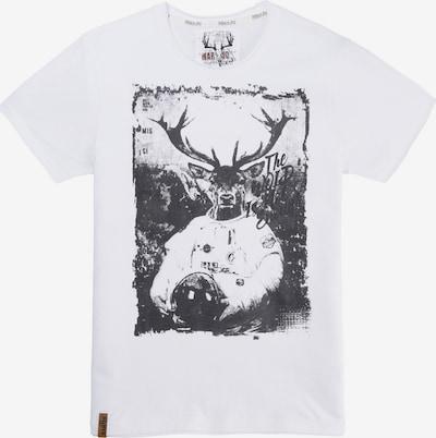 MARJO Shirt in schwarz / weiß, Produktansicht