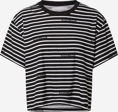 THE KOOPLES SPORT T-Shirt in schwarz / weiß, Produktansicht