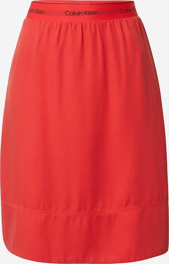 Calvin Klein Jupe en orange, Vue avec produit