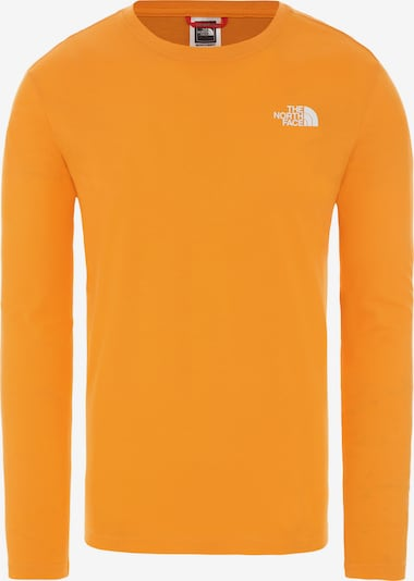 THE NORTH FACE Longsleeve 'Red Box' in orange, Produktansicht
