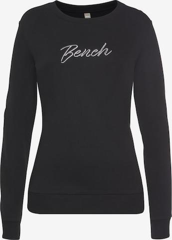BENCH Bench. Sweatshirt in Schwarz