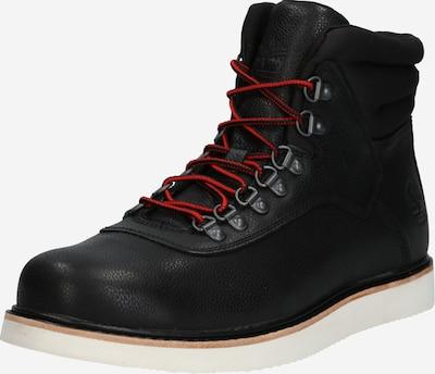 Bocanci cu șireturi 'Newmarket Archive Boot' TIMBERLAND pe negru / alb, Vizualizare produs