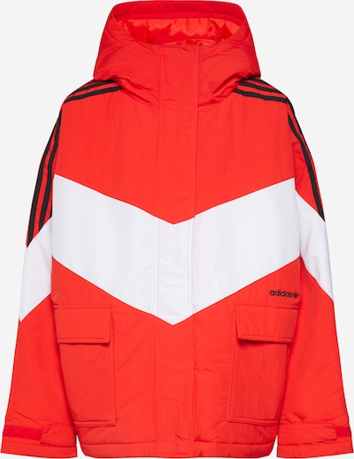 ADIDAS ORIGINALS Jacke 'ICONIC WINTER J' in rot, Produktansicht