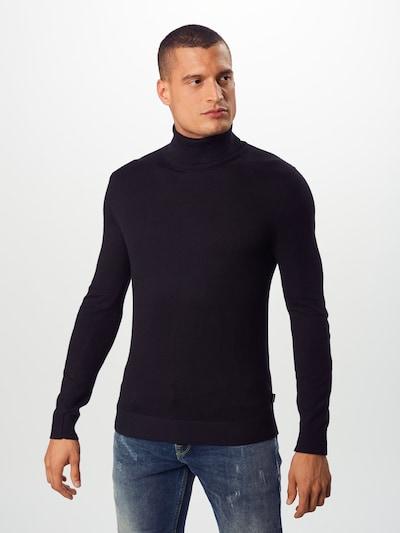 Megztinis 'EEMIL' iš JACK & JONES , spalva - juoda: Vaizdas iš priekio
