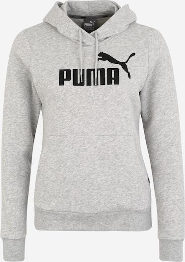 PUMA Sweatshirt in gelbmeliert / schwarz, Produktansicht