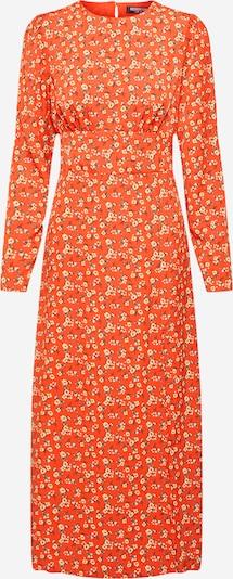 Fashion Union Obleka 'FRANCE' | oranžna / oranžno rdeča barva, Prikaz izdelka