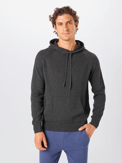 NU-IN Sweatshirt in de kleur Donkergrijs, Modelweergave