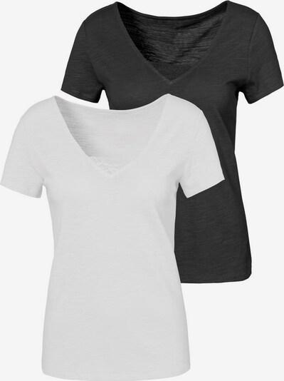 VIVANCE Shirt in Black / White, Item view