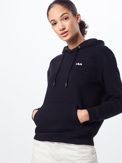 FILA Sweatshirt 'Ebba' in schwarz: Frontalansicht