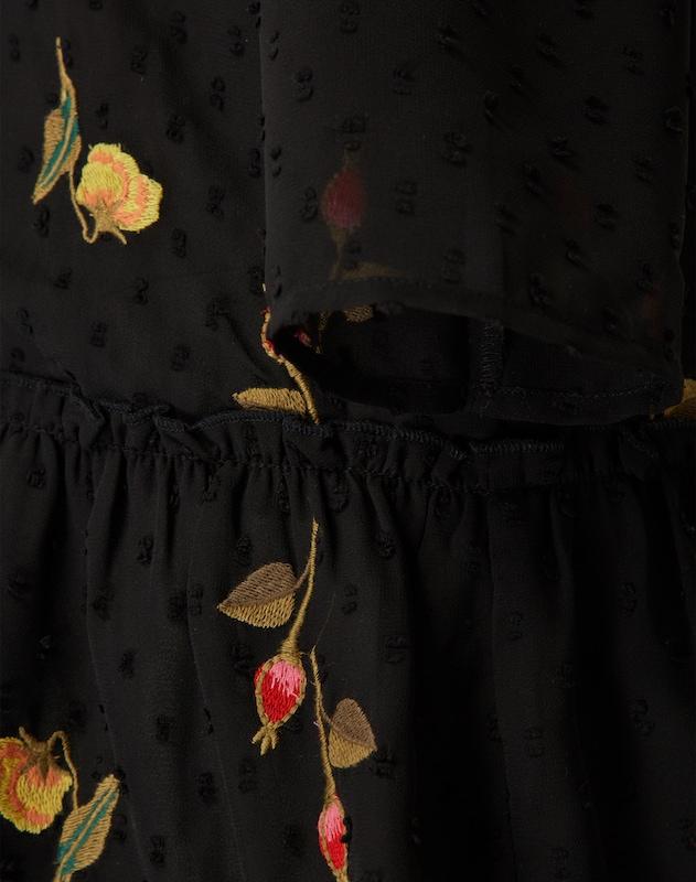 Y.A.S Kleid mit Stickerei 'YASMOLIA'