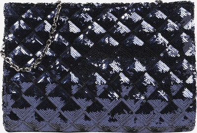 mascara Clutch 'SEQUIN FOLD' in de kleur Navy, Productweergave