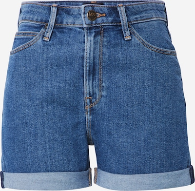 Lee Jeans 'Short MID' in blue denim: Frontalansicht