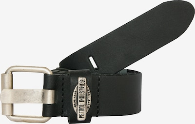 Petrol Industries Gürtel in schwarz / silber, Produktansicht