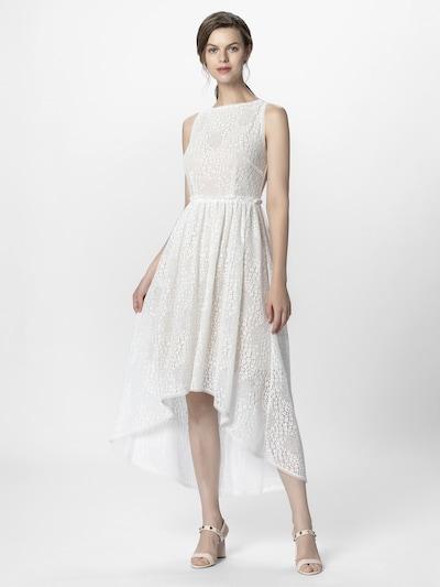 APART Abendkleid aus Spitze, mit nude-farbenem Futter in creme, Produktansicht