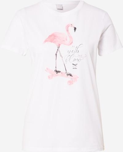 Iriedaily Tričko 'Flowmingo' - bílá, Produkt