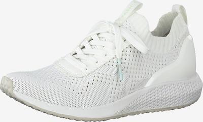 TAMARIS Sneakers laag 'Fashletics' in de kleur Wit, Productweergave