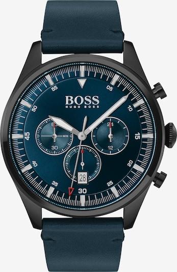 BOSS Chronograph 'Pioneer' in enzian / rot / schwarz / weiß, Produktansicht
