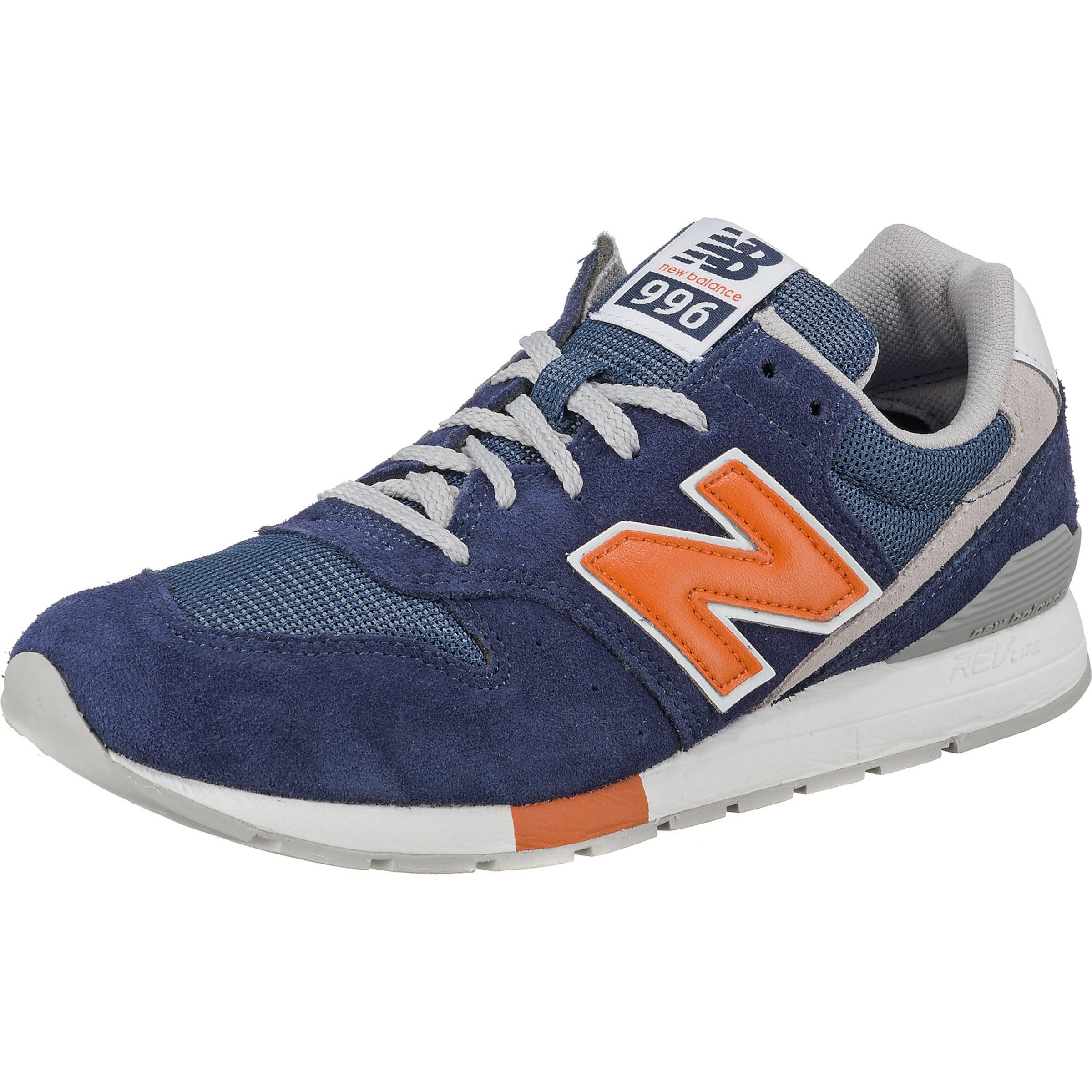 New En Balance Basses Bleu Foncé Blanc 'mrl996' NuitOrange Baskets 9WHYbEIeD2