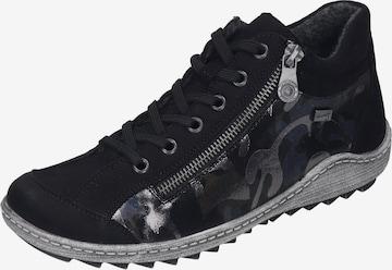 Chaussure de sport à lacets REMONTE en noir