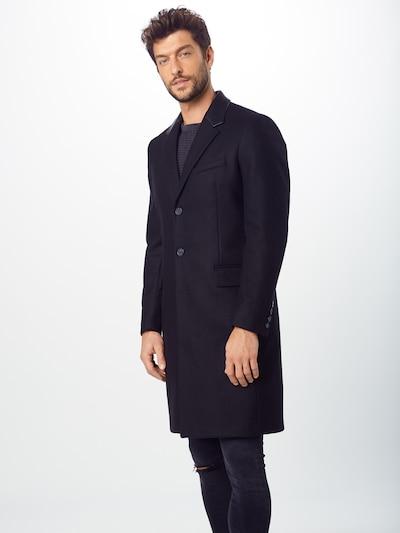 The Kooples Manteau mi-saison 'MANTEAU' en noir, Vue avec modèle