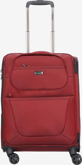 Stratic Valise en rouge rubis, Vue avec produit