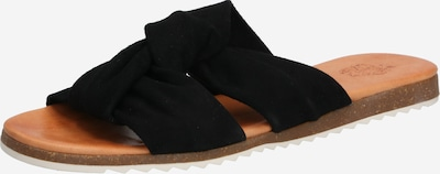 Apple of Eden Slipper 'MAYA' in schwarz, Produktansicht