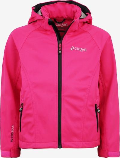 ZigZag Softshelljacke 'Grand Lake W-PRO' in pink, Produktansicht