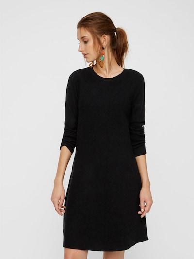 VERO MODA Kleid in schwarz: Frontalansicht