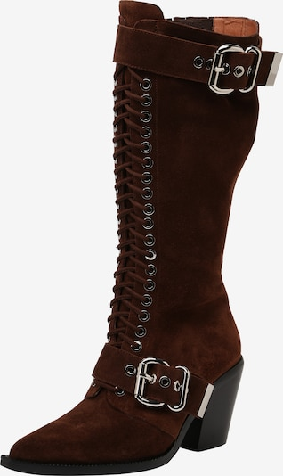 Jeffrey Campbell Paeltega saabas 'YYH JC-491-53-1' pruun, Tootevaade