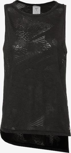 REEBOK Tanktop 'Yoga' in schwarz, Produktansicht