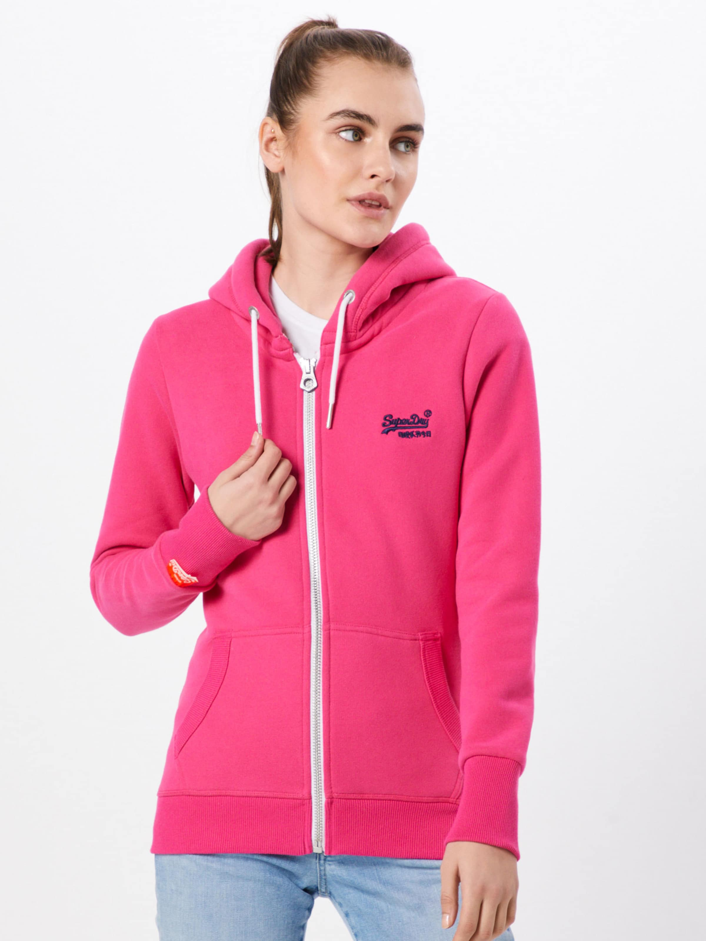 'orange' Pink Superdry Sweatvest Superdry Pink 'orange' 'orange' Sweatvest In Sweatvest In Superdry n0XZkwON8P