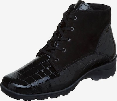 SEMLER Schnürstiefelette in schwarz, Produktansicht