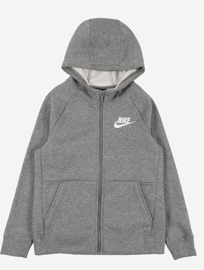 Nike Sportswear Sweatjacke in graumeliert, Produktansicht