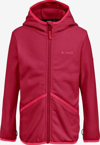 VAUDE Athletic Fleece Jacket in Pink
