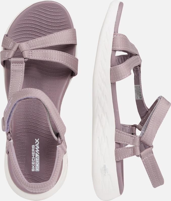 'on En Skechers Sandales go Lilas the 600' N80Omvnw