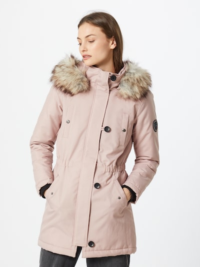 ONLY Parka 'Liris' in rosa: Frontalansicht