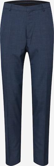 BURTON MENSWEAR LONDON Hosen 'BLUE JASPE CHECK SLIM FIT..' in blau: Frontalansicht