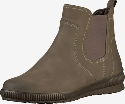 Jenny Stiefelette in taupe, Produktansicht