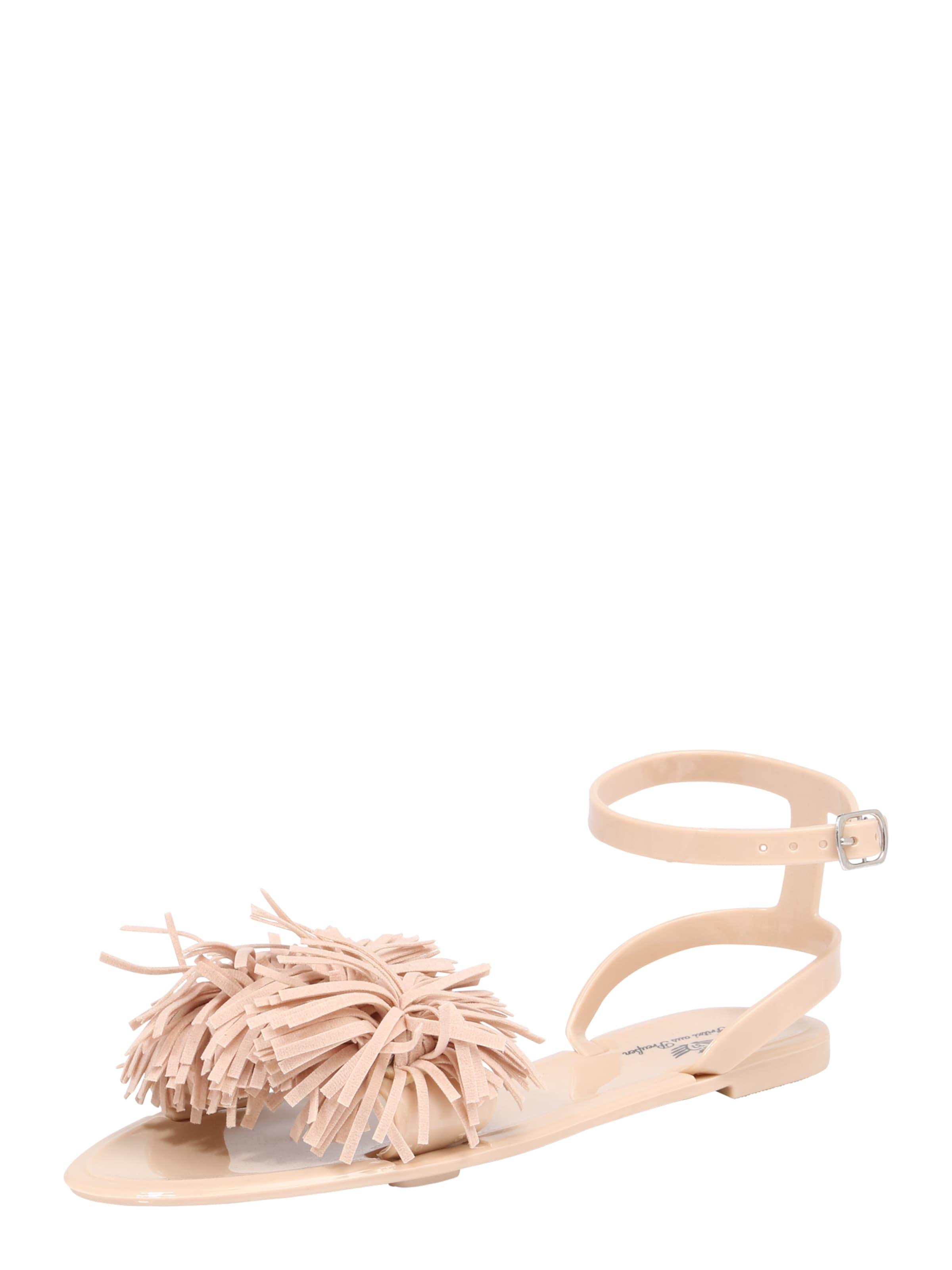 Fritzi aus Preußen »NYLA« Sandale, Fransen, natur, nude