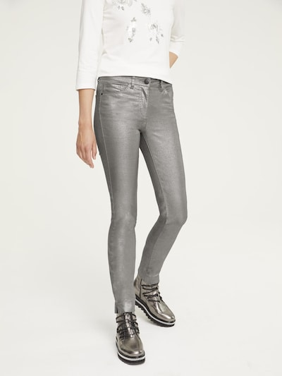 heine Kalhoty - stříbrná, Model/ka