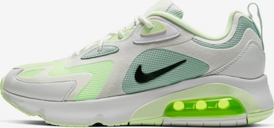 Nike Sportswear Sneakers laag 'Air Max 200' in de kleur Mintgroen / Neongroen / Offwhite, Productweergave