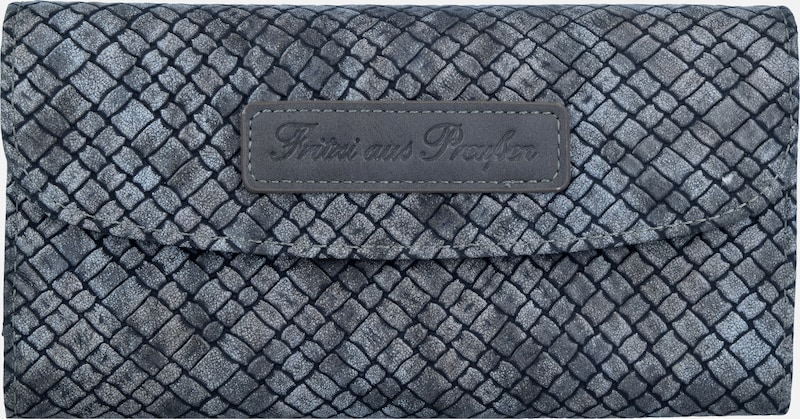 Fritzi aus Preußen Heide Woven Geldbörse 19,5 cm