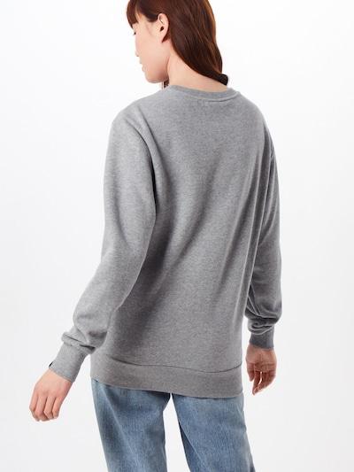 ELLESSE Sweatshirt 'HAVERFORD' in de kleur Grijs gemêleerd: Achteraanzicht