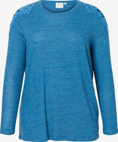 Junarose Pullover in himmelblau, Produktansicht