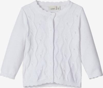 NAME IT Strickjacke in weiß, Produktansicht